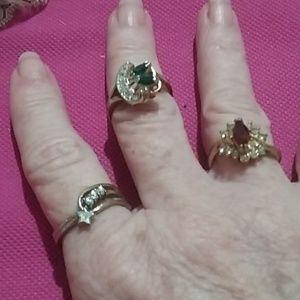 🎀 3- Retro rings 🎀